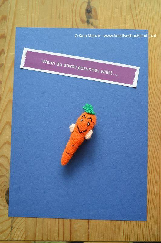"""Wenn-Buch """"Wenn du etwas gesundes willst ..."""" #Karotte"""