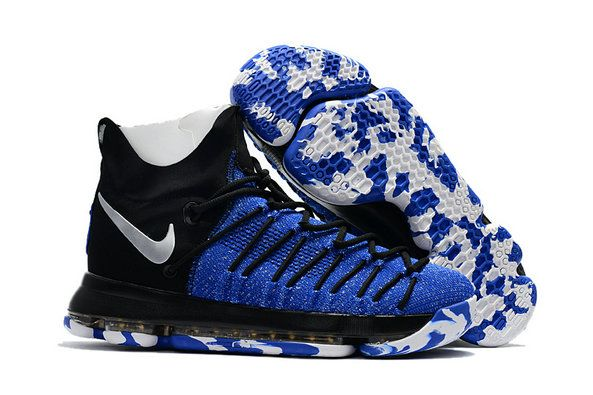 online store bf83e f4258 June Latest New Arrival KD 9 IX Elite Royal Black Camo Silver Cheap For Sale