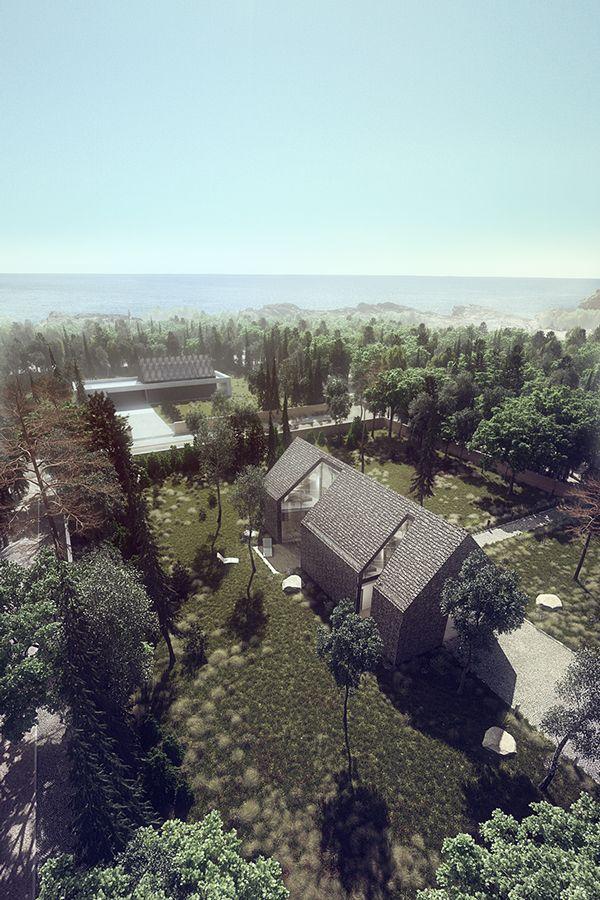 Shingle House on Behance