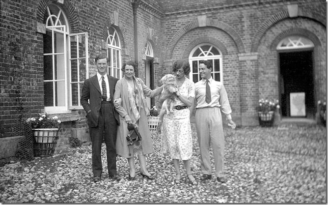 evelyn waugh sibyl colefax phyllis de janze and oliver
