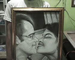 Painting Sketch Black & Grey