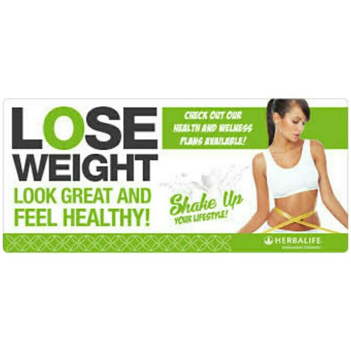 Lose weight and look great!