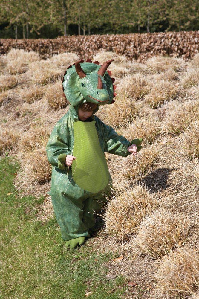 Køb Udklædning - Triceratops Dinosaur - 2-3 år. online - Udklædning og Rolleleg