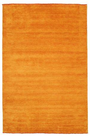 Handloom fringes - oranssi-matto 200x300