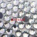 Clear HotFix Steentjes SS6 SS10 SS16 SS20 SS30 SS34 SS40 DMC Plat glas kristallen strass stenen voor DIY
