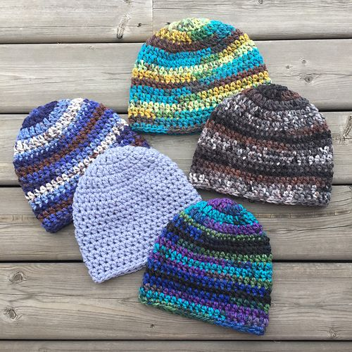 Make a warm, snug and cozy Fitted Beanie with Loops & Threads Charisma Yarn using this Free pattern.