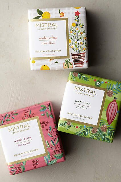 Anthropologie EU Mistral Holiday Bar Soap by Mistral.