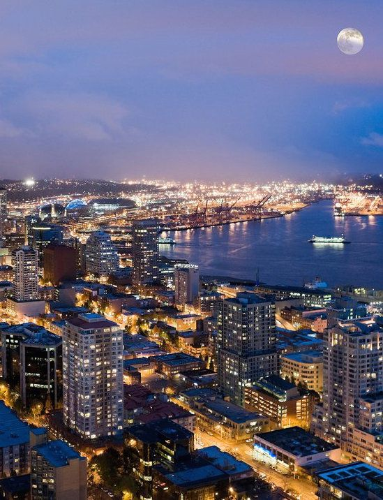 """The Space Needle in Seattle, Washington was named one of """"The World's 25 Best Observation Decks"""" by Condé Nast Traveler."""