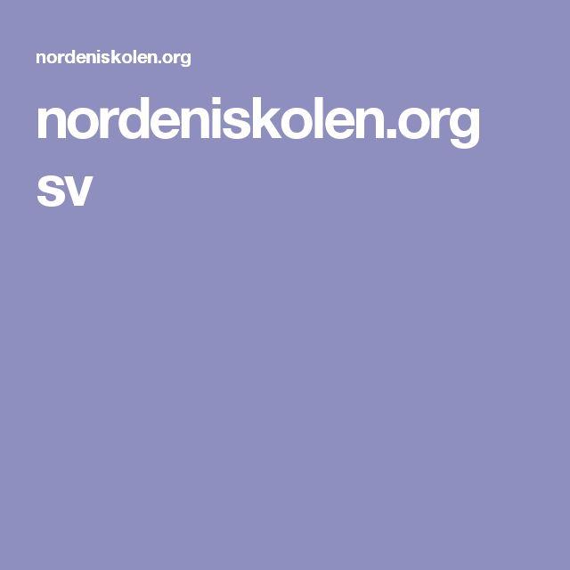 nordeniskolen.org sv