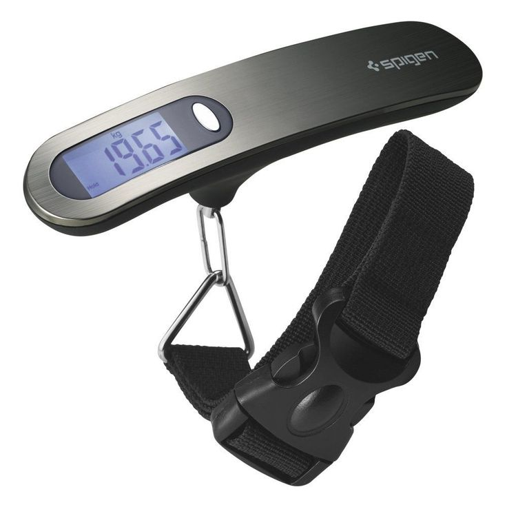 Electronic Portable Digital LCD Display Luggage Scale Travel Suitcase Bag Weight #Spigen