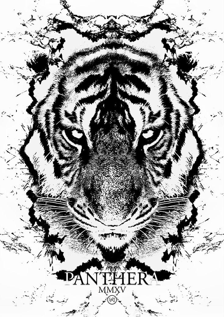 Billede af Tiger plakat - Cúchulainn Evandrus