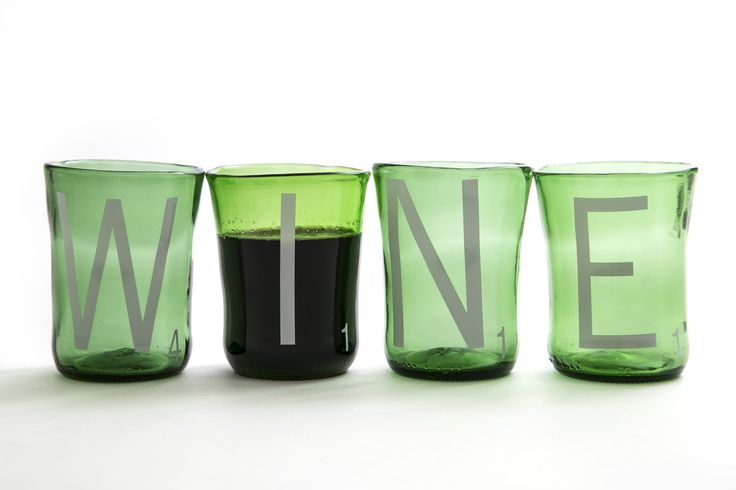 Wine Scrabble Upcycled Tumblers