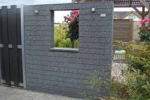8 best cl ture devant maison images on pinterest gabion wall decks and rock wall. Black Bedroom Furniture Sets. Home Design Ideas