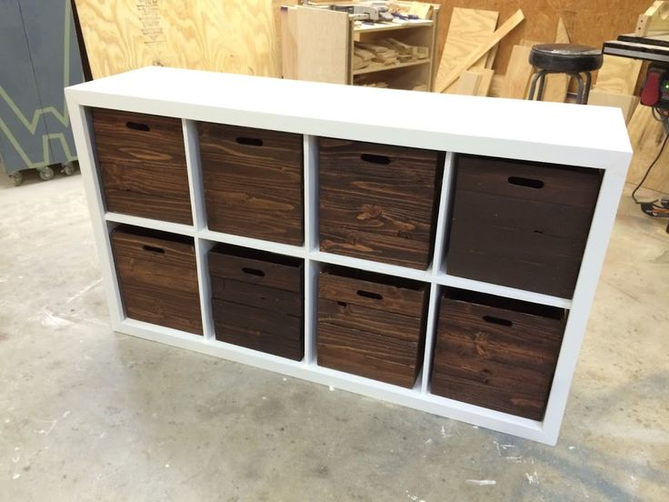 Delightful Engaging Brown Color Wooden Crates As Cube Storage Boxes And Combine With  White Color Wooden Rectangle Shape Storage Racks As Well As Wood Crate  Display And ...