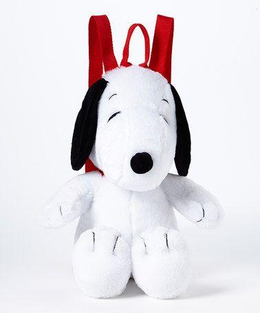 Look at this #zulilyfind! Snoopy Plush Backpack #zulilyfinds