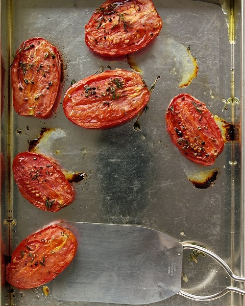 slow roasted tomatoes...sound delicious...and only 3 ingredients!