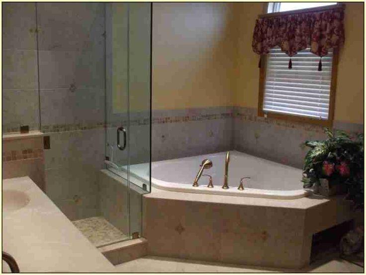 best 25 corner bathtub ideas on pinterest corner tub master bathtub ideas and corner tub shower. Black Bedroom Furniture Sets. Home Design Ideas