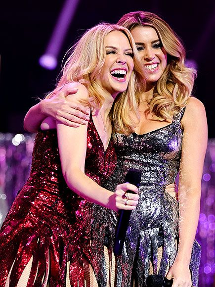 Star Tracks: Monday, December 14, 2015 | SISTER POWER | Kylie Minogue (left) was joined by sister Danni Minogue during a performance at the Royal Albert Hall in London on Friday.