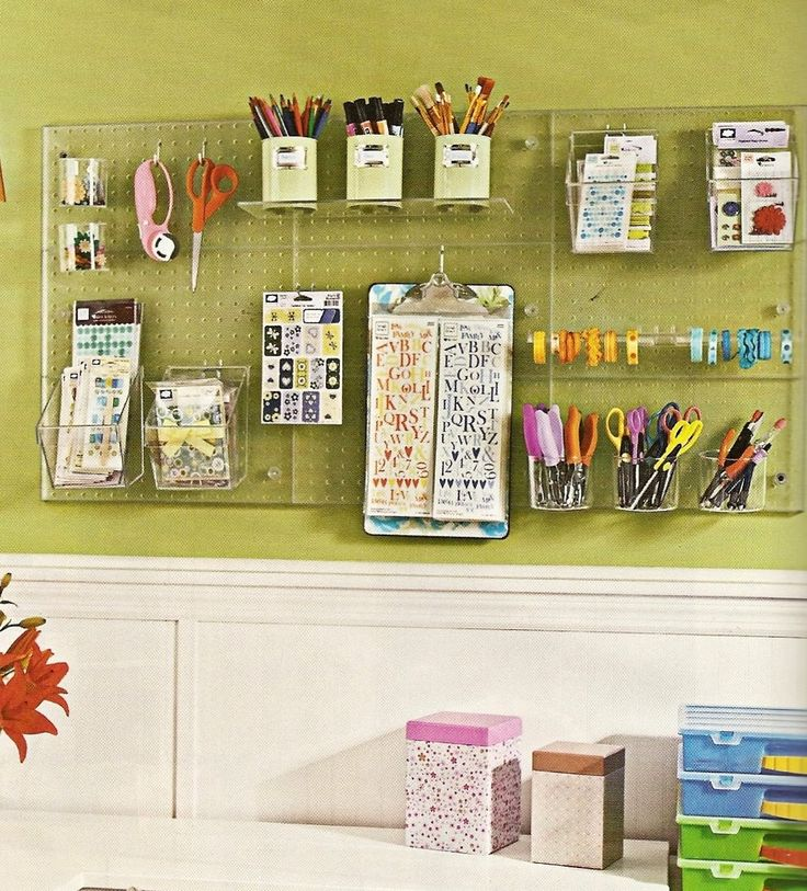 101 best Small Home Office, Craft Space & Storage Ideas images on ...