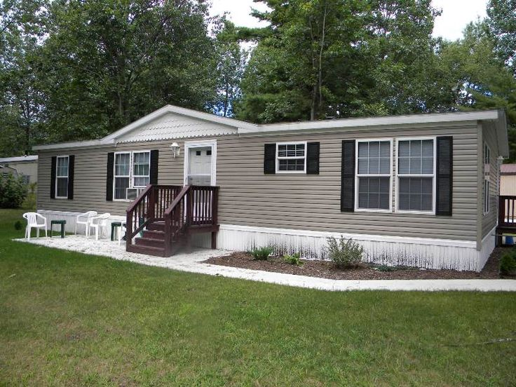 Mobile Home Exterior Paint Before And After Pics Google Search Projects To Try Pinterest