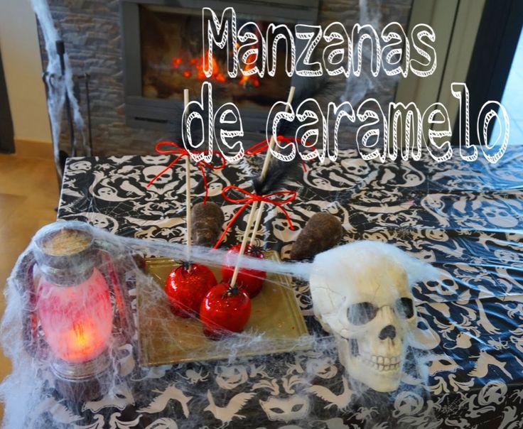 Abracadabra pata de cabra … disfrutad la pócima secreta para estás mágicas manzanas.  Happy Halloween!!!