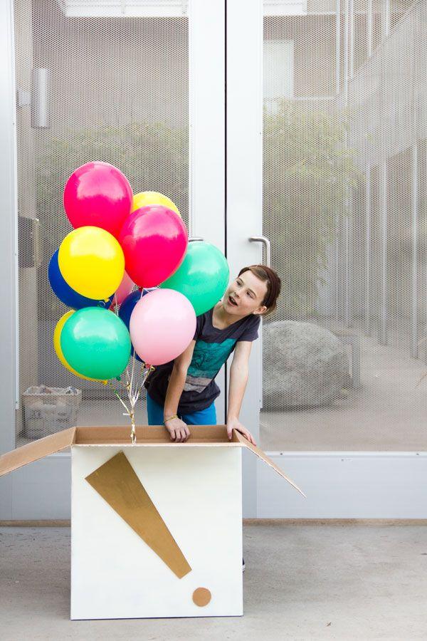 DIY Balloon Surprise Box | Studio DIY®