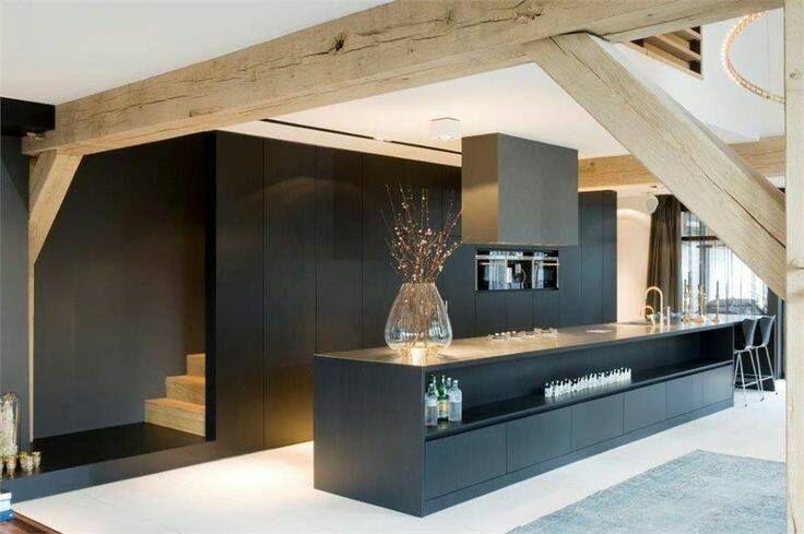 die besten 25 granit k che ideen auf pinterest dunkle holzk chen schr nke aus dunklem holz. Black Bedroom Furniture Sets. Home Design Ideas