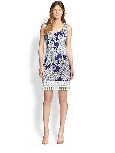 It's not easy to find Lilly Pulitzer on sale, so it's awesome right now that Saks has an additional 25% coupon code!  This Thompson Shift in I Herd You is only $148 if you use code FRNFAM