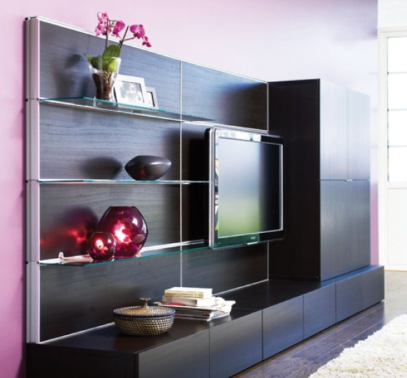 Entertainment wall for FR or Rec