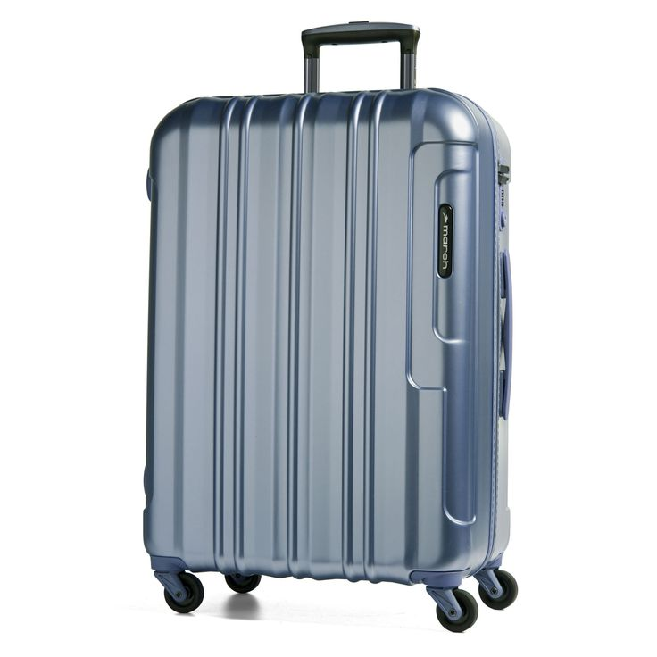 Großer #Koffer March15 Cosmopolitan  bei Koffermarkt: ✓leicht ✓Polycarbonat-Hartschale ✓4 Rollen ✓metallblau ⇒Jetzt kaufen