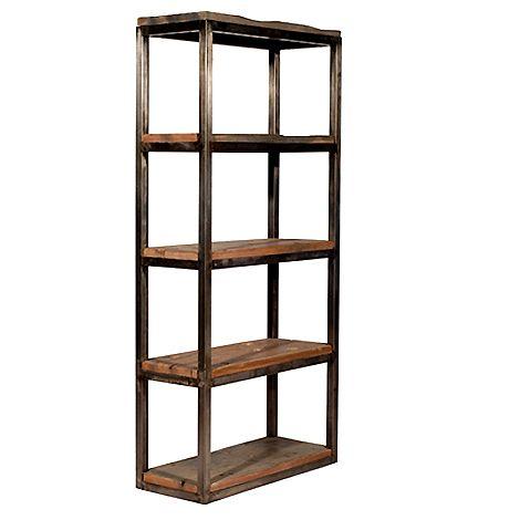 Salvaged Wood Bookshelf at HudsonGoods.com MB5