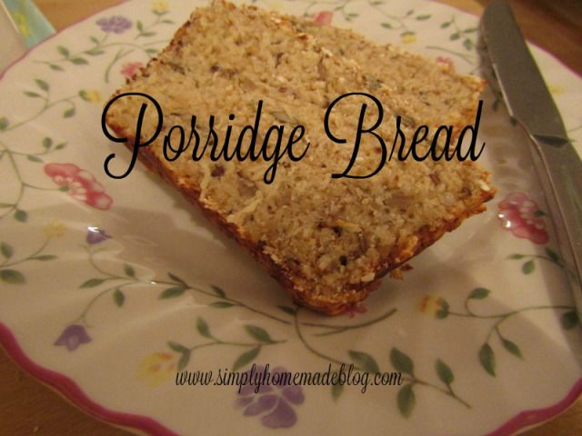 Ok, so porridge bread is no big secret, it's everywhere. It is super easy and super healthy, so why wouldn't it be? In  my opinion, porridge oats really are a super food. They're low in fat, low gi...