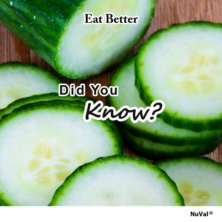 Get rid of bad breath (a.k.a. halitosis) by pressing a slice of cucumber to the roof of your mouth for 30 seconds. The phytochemicals will kill the bacteria responsible for causing this condition. www.nuval.com