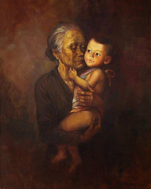Rustamadji - Nenek dan Cucu