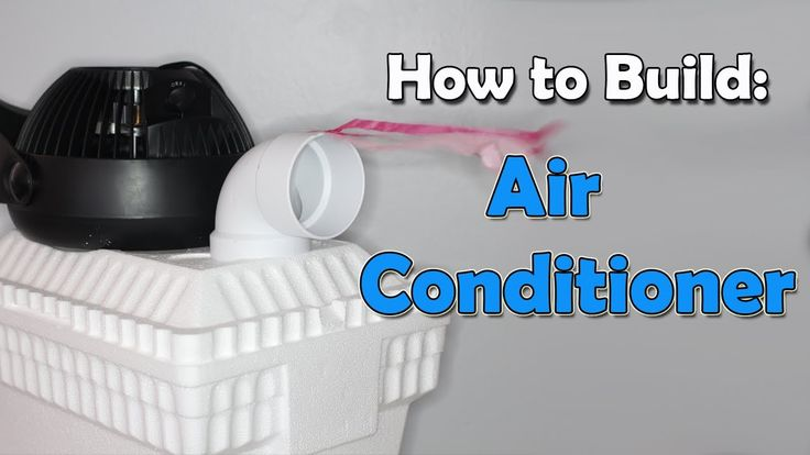 How to Build a Cheap Air Conditioner - YouTube