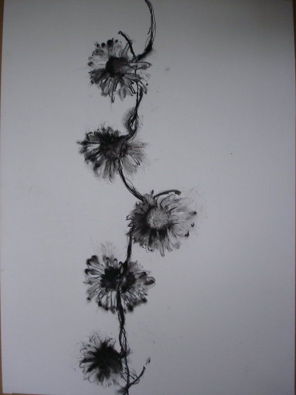flower spine tattoo - Google Search
