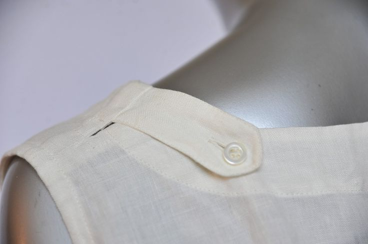 eskandar clothing for men | Eskandar Womens Cream Linen Tunic Blouse Mini Dress Oversized Shirt ...