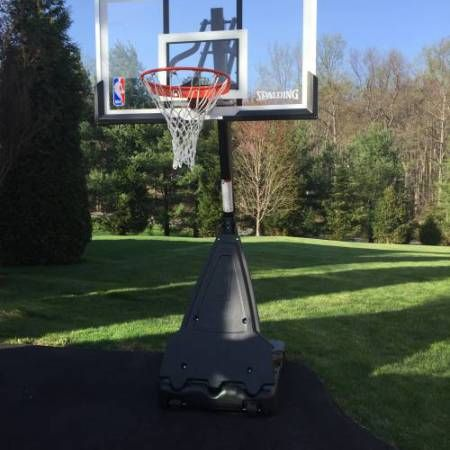 Spalding hoop assembly spalding portable basketball hoop assembled in bel air md by Any Assembly