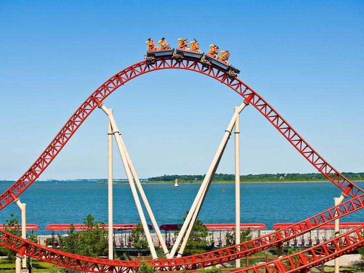 New Roller Coaster at Cedar Point | Maverick, Cedar Point, Sandusky, OH : Worlds Coolest Roller Coasters ...