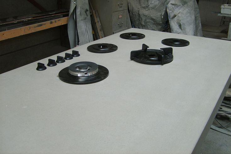 Pitt cooking wit beton betonnen aanrechtblad pinterest for Aanrechtblad karwei