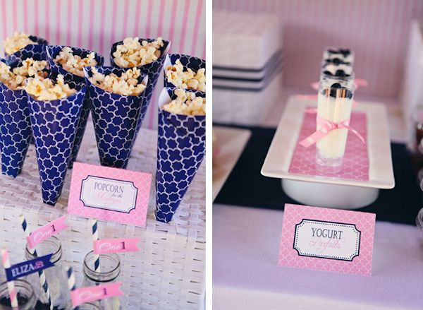 {Preppy Pink + Navy} Nautical Theme First Birthday - Baby Blog - Best Baby Sites for Shopping and Inspiration
