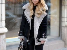 1000  images about ACNE shearling coat on Pinterest | Winter