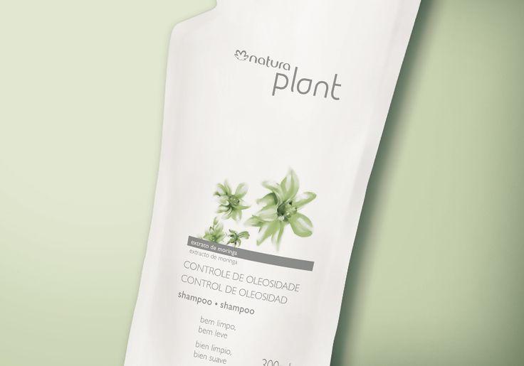 Refil Shampoo Controle de Oleosidade Plant - 300ml - 37719