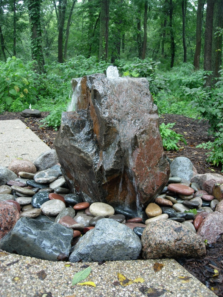 46 best images about bubbling boulders on pinterest for Decorative boulders for yard
