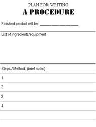Procedural Writing Lesson Plans Grade Driver Nokia C Game HD - Procedural writing template