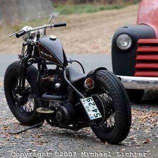 Harley Vintage Custom Bobber (11)