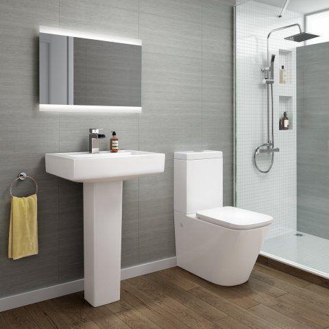 Florence Close Coupled Toilet & Basin Set