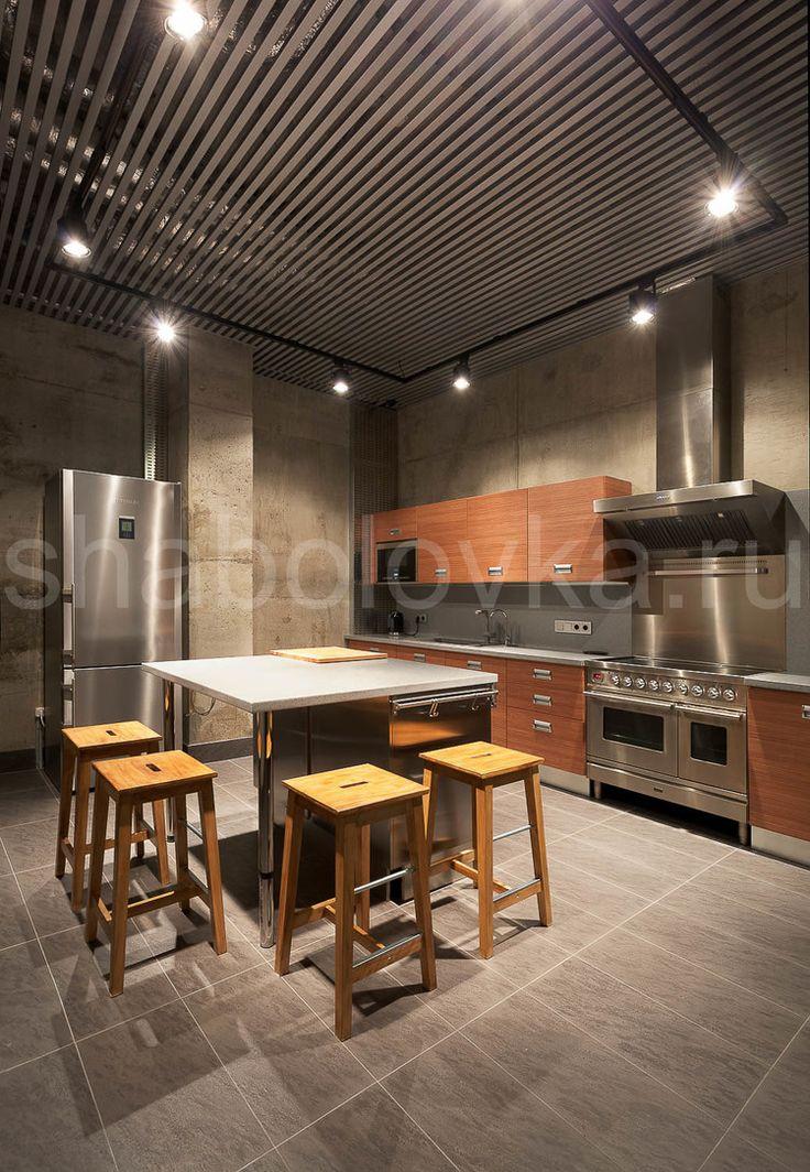 кухня - современный стиль, минимализм, contemporary house, kitchen