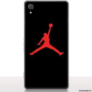 Coque Sony Xperia Z2 - Housse Silicone Jordan - Téléphone Mobile Sony. #jordan #basket #xperia #z2 #sony #silicone