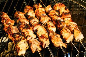 Abuelo's Restaurant Copycat Recipes: Chicken Salsa Verde Kabobs